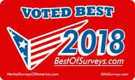 bestofsurvey 2018 winner logo