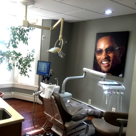 View of one of our dental implant treatment rooms.