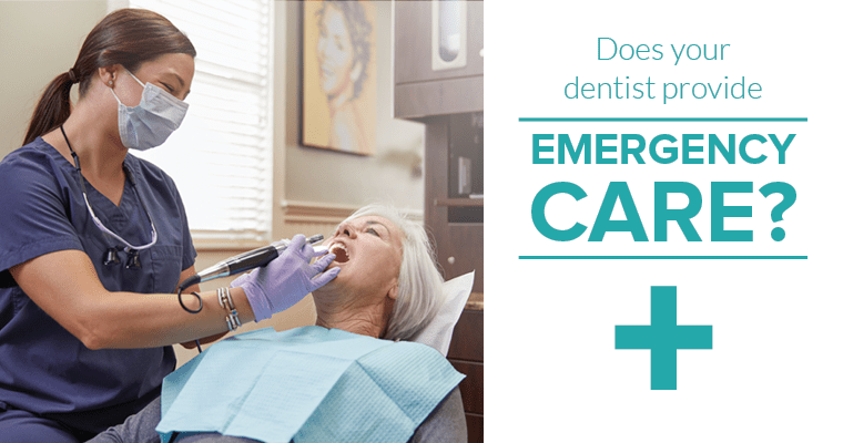 Does your dentist provide emergency care?