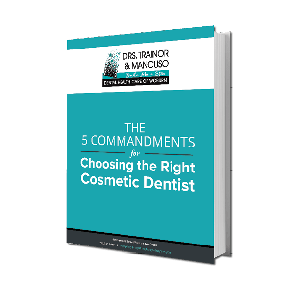 Preview of the eBook, The 5 Commandments for Choosing the Right Cosmetic Dentist